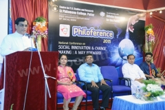 "Valedictory function of ""Philoference -2015"""